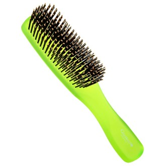 Giorgio GION1G Gentle Neon Hair Brush Detangle Soft Scalp Sensitive