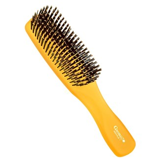 Giorgio GION1O Gentle Neon Hair Brush Detangle Soft Scalp Sensitive