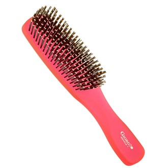 Giorgio GION1R Gentle Neon Hair Brush Detangle Soft Scalp Sensitive