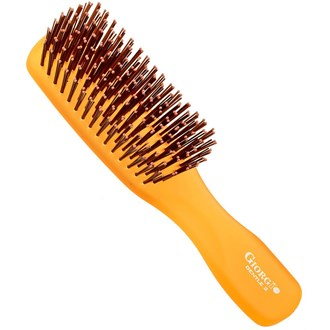 Giorgio GION2O Gentle Neon Hair Brush Detangle Soft Scalp Sensitive