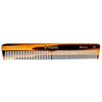 Kent 2T Handmade Coarse / Fine Double Tooth Hair Dressing Comb