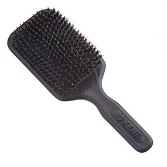 Kent AH12G Grey Airhedz Pro Pure Bristle Paddle Brush