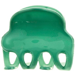 Camila Paris CP2582 Set of 2 Small Green French Hair Clip Claw No Slip Grip