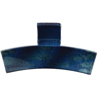 Camila Paris CP2585 Large Blue French Hair Clip Claw No Slip Grip