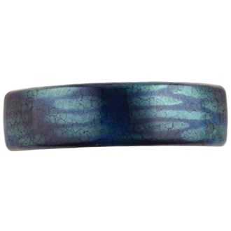 Camila Paris CP2586 Volume Blue French Hair Barrette Rectangular
