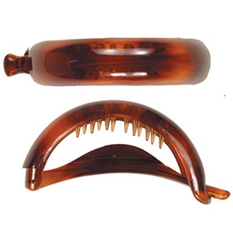 Camila Paris CP61 Volume Tortoise French Hair Barrette Automatic