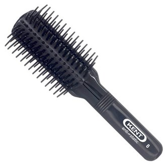 Kent AS8 Rubber Nylon Pad, Nylon Quill, Anti-Static Hair Brush (7-Row)