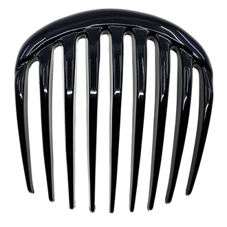 Camila Paris CP2873 Black French Hair Side Comb for Women